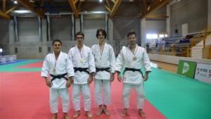 I medagliati del Gran Prix Villanova Dotta,Rizzetto, Drigo, Durigon